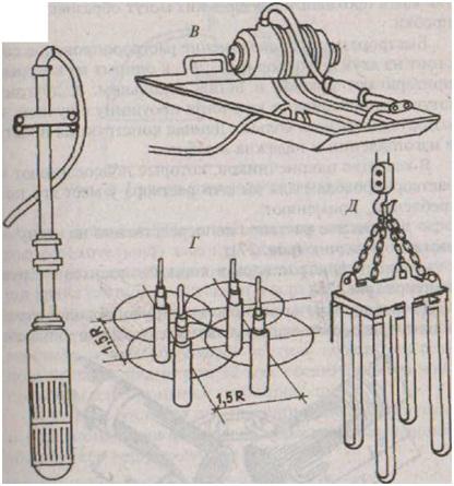 глубинный вибратор с гибким